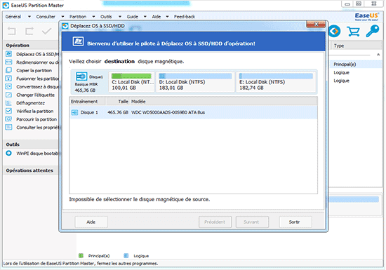 EaseUS Data Recovery Wizard - Select Files to Recover